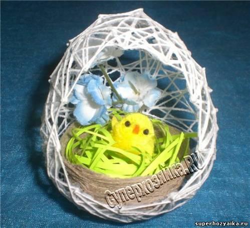 Пасхальные яйца своими руками. Мастер-класс