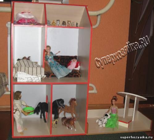 Кукольный домик, как сделать