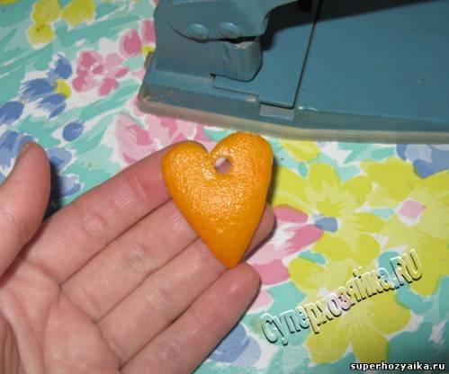 Игрушки из апельсин