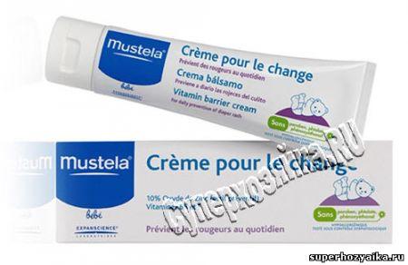 Крем под подгузник Mustela
