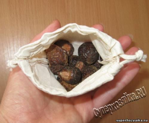 Мыльные орехи, использование