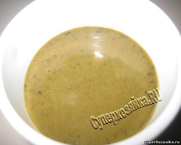 Маринад из зелени дл мяса