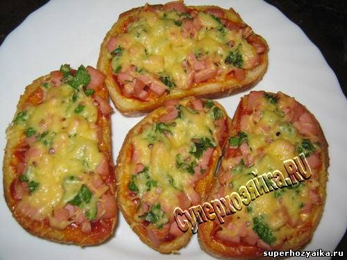 горячие бутерброды в мультиварке рецепты с фото