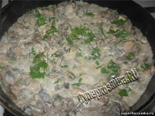 Праздничная закуска из грибов