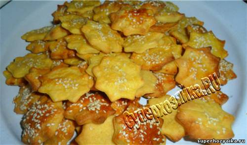 Печенье с сыром несладкое