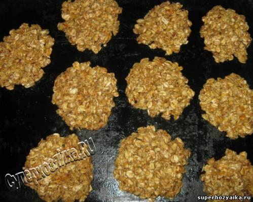 Печенье овсяное в домашних условиях