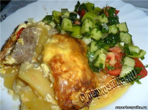 Мясо по-французски в духовке. Рецепт с фото