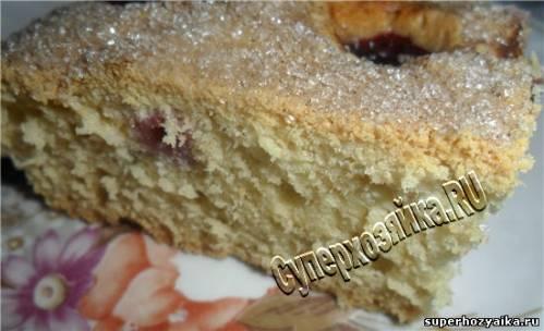 Пирог сливовый рецепт