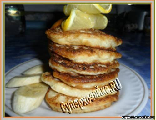 Оладьи из творога. Рецепт с фото Сырники из творога с банановым вкусом