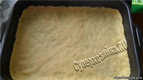 Тертый пирог с грушей рецепт с фото
