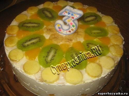 Детские торты торт из творога торты
