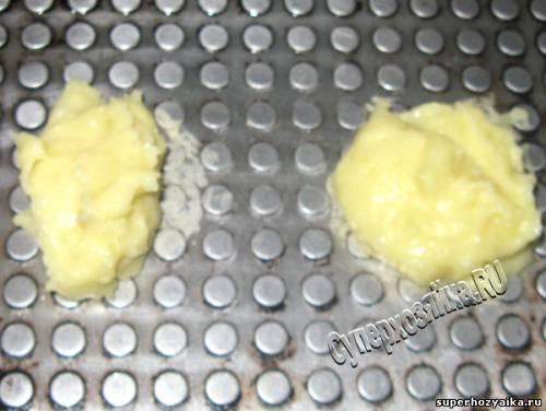 Чипсы в вафельнице