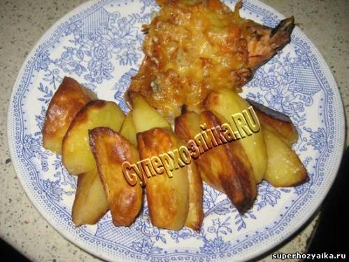 Горбуша в духовке в фольге рецепт с фото