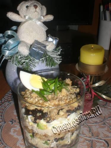 Салат на новый год рецепт