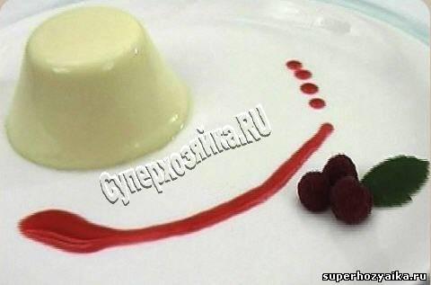 Panna Cotta - десерт из сливок и желатина