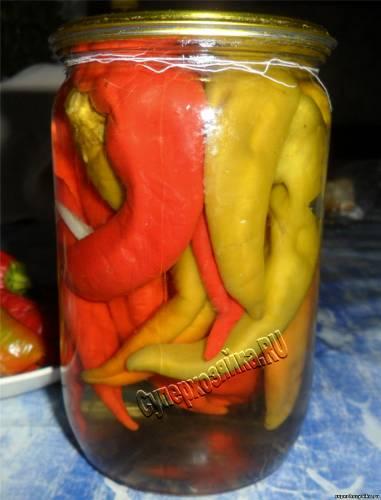 Консервированный горький перец. Рецепты с фото