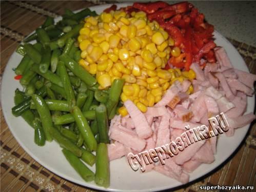 Салат на праздничный стол - рецепт