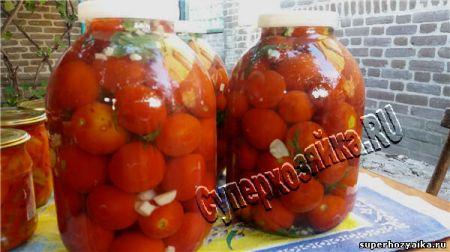 Кислые помидоры в банках на зиму