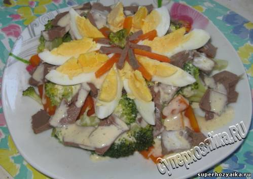 Праздничный салат, рецепт