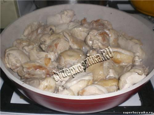 Курица на ужин рецепт