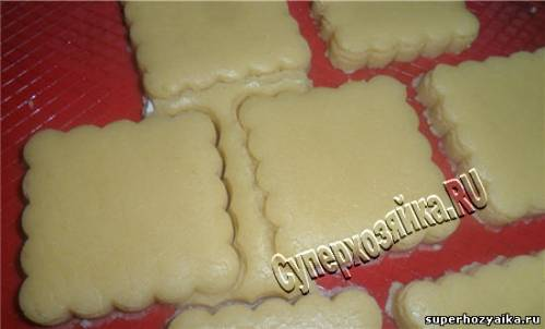 Квадратное печенье