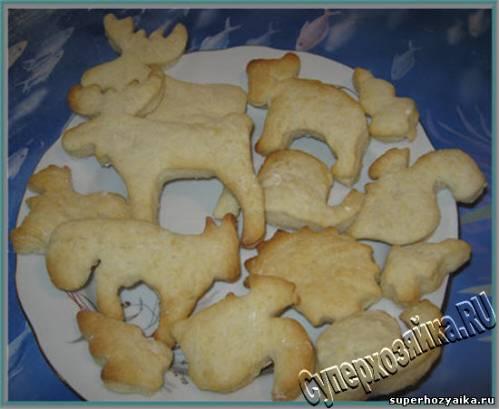Постное печенье. Рецепт печенья на скорую руку