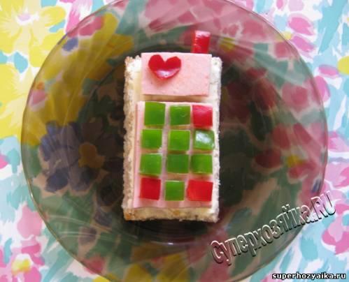 День рождения, бутерброды для детей