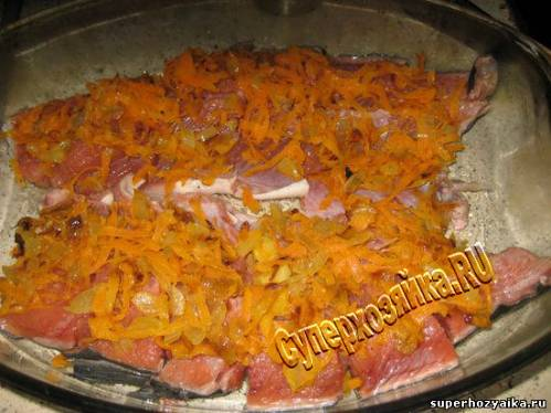Горбуша запеченная в духовке с овощами с фото