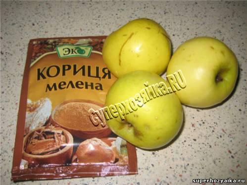 Начинка из яблок для блинов