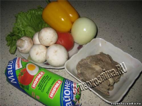 Салаты - рецепты с фото