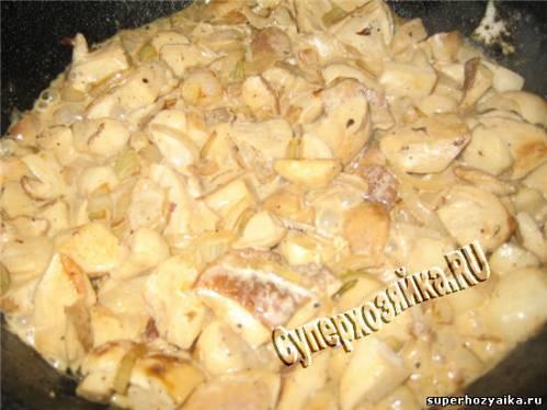 Рецепты из белых грибов