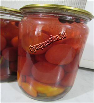 Рецепт сливы с помидорами