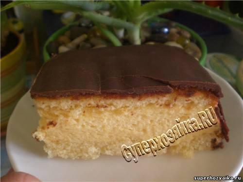 Торт Пломбир в шоколаде