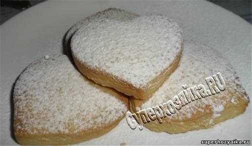 Печенье домашнее - рецепт - простое