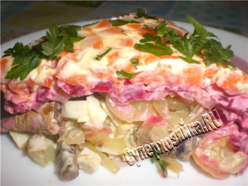 Рецепт салата с фото