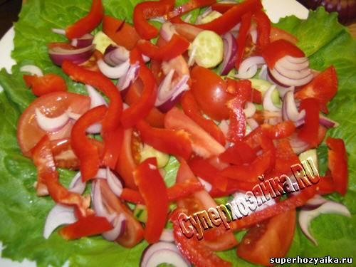 Греческий салат с фото