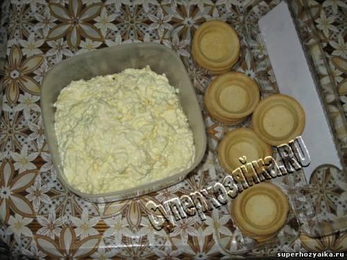Начинка для сырной закуски
