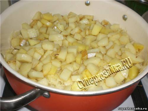 Соте с картофелем - как приготовить