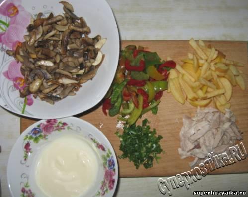 Коктейль салат ингредиенты