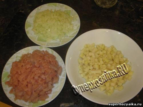Кубете с мясом и картошкой