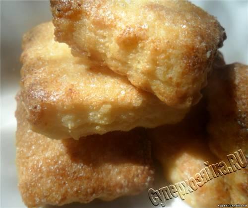 Печенье с творогом Ушки. Рецепт с фото