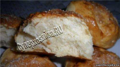 Ванильные булочки рецепт