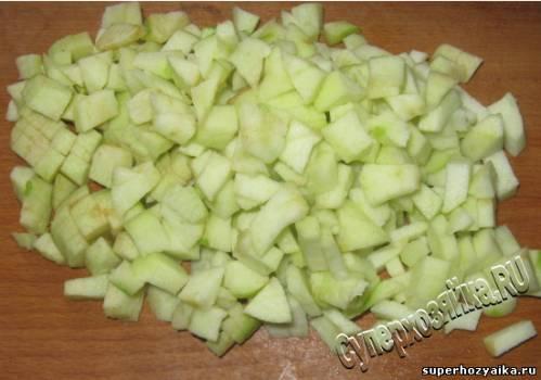 Штрудель с яблоками