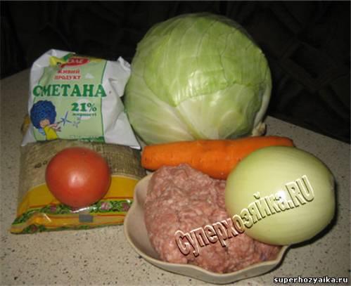 Голубцы - рецепт с фото