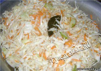 Маринованная капуста – быстрый рецепт