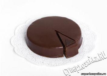 Шоколадный торт Захер – Sachertorte