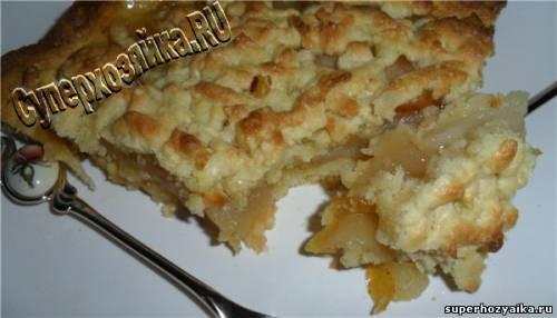 Пирог с грушами Рецепт с фото