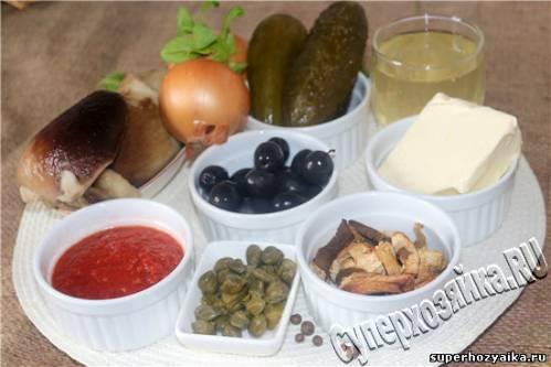 Солянка грибная рецепт приготовления