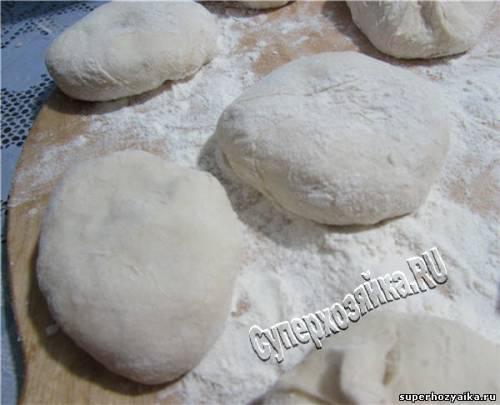 Рецепт пирожков, жареных на сковороде