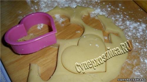 Печенье фигурное рецепт
